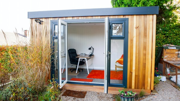 Garden offices for Cedar garden office
