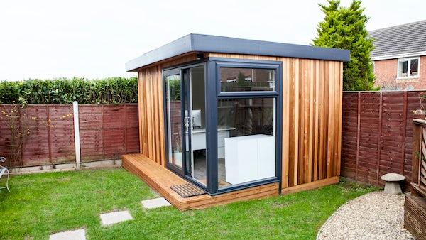 Garden offices for Luxury garden office